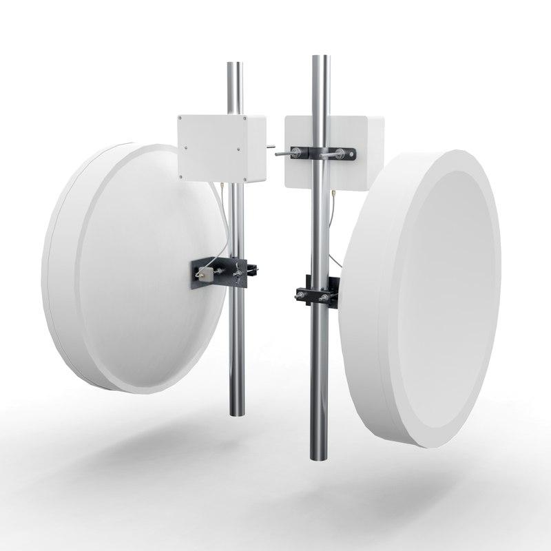 3D model wireless antenna 60cm