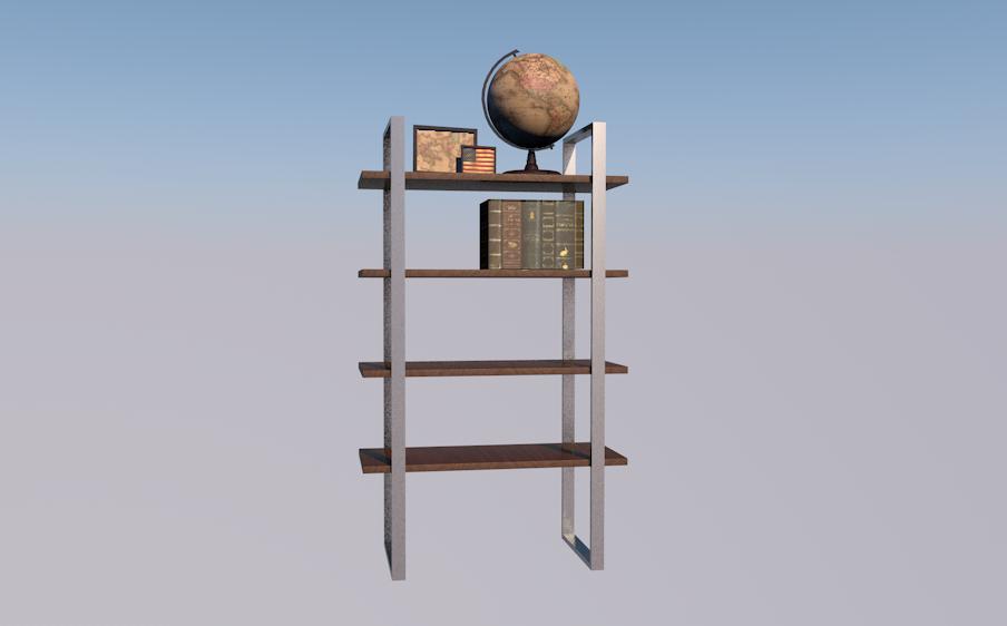 shelves unit model