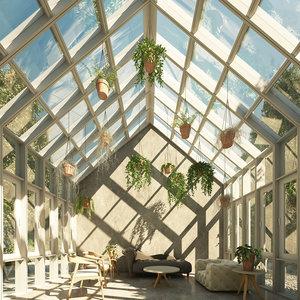 tree plants 3D model