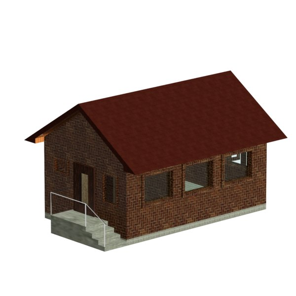 small house 3D
