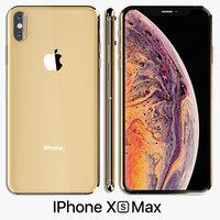 3D model iphone xs x