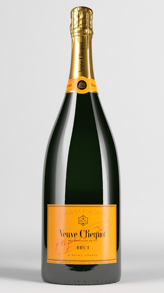 3D veuve clicquot model