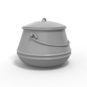 3D cauldron chaudron