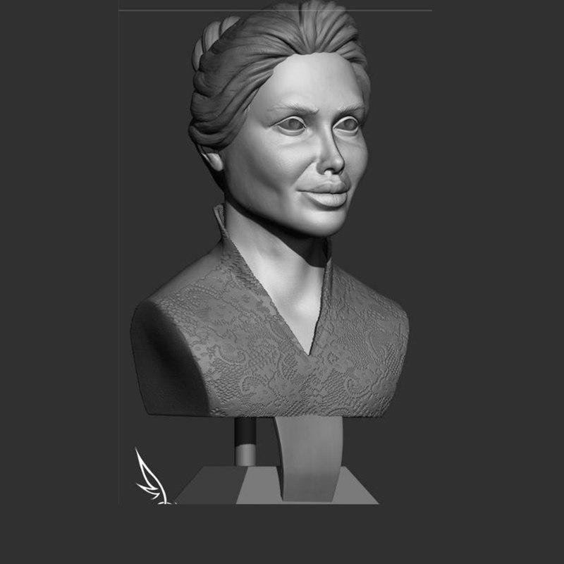 sculpture woman 3D model
