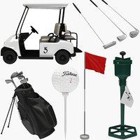 golf equipment 3D