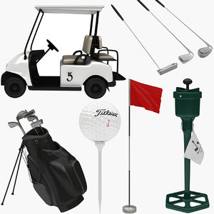 golf equipment 3D