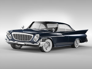 chrysler car 3D model