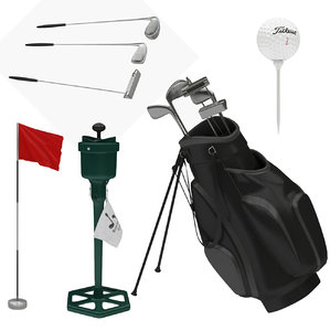 3D golf equipment