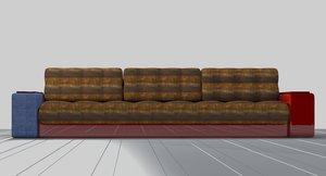 large sofa 3D