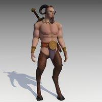faun warrior 3D