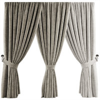 3D curtains 29 model