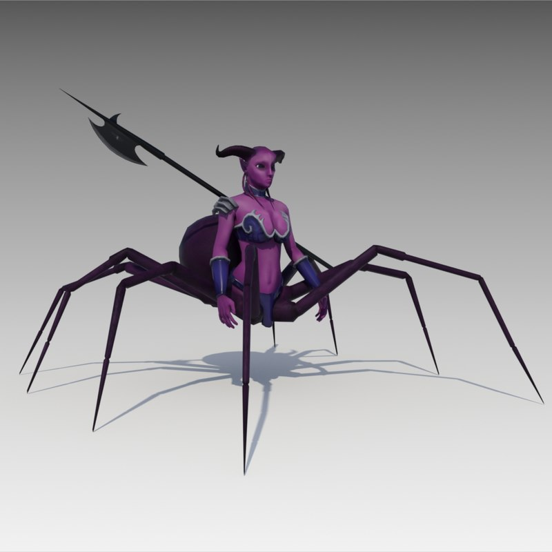 3D character creature