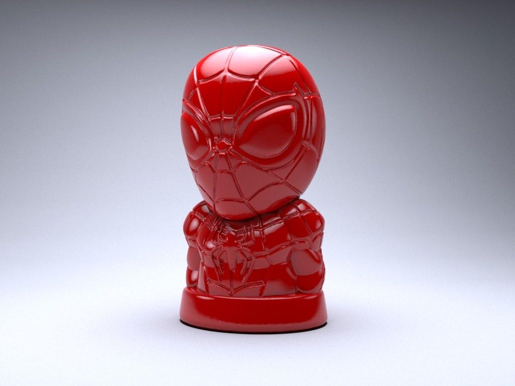 3D figure art model