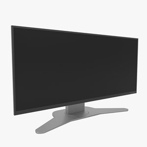 monitor display 3D model