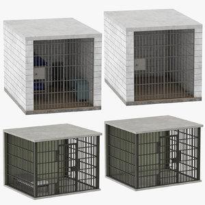 3D model jail cells