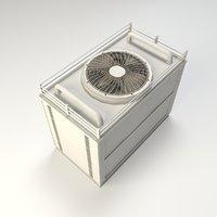 air conditioner 3D