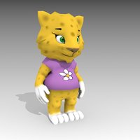 3D jaguartoon animations