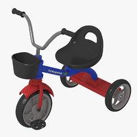 3D children bicycle model