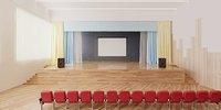 3D model assembly hall