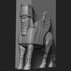 persepolis statue model
