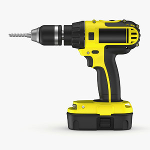 3D power tools model
