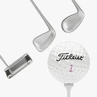 3D golf iron