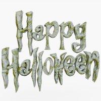 happy halloween model