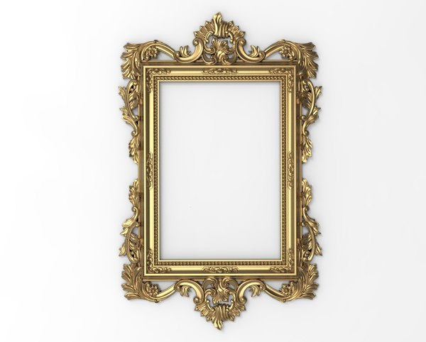 3D frame carving model