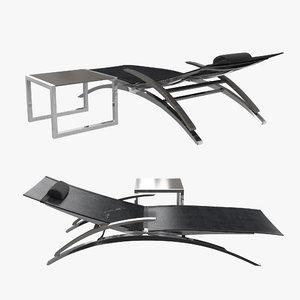 lounger table o-zon ninix model