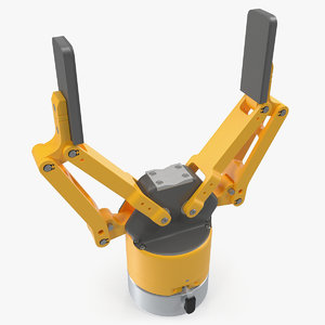 3D finger robot hand gripper
