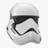 stormtrooper helmet jedi order 3D