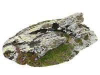 3D rocky cliffs 16k rocks model