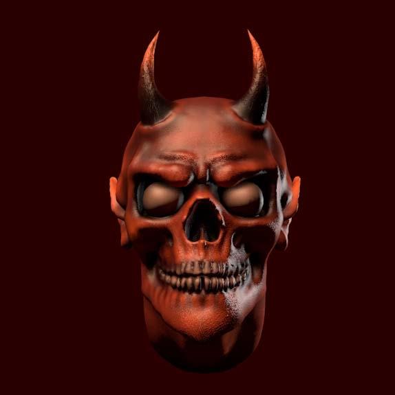devil head 3D model