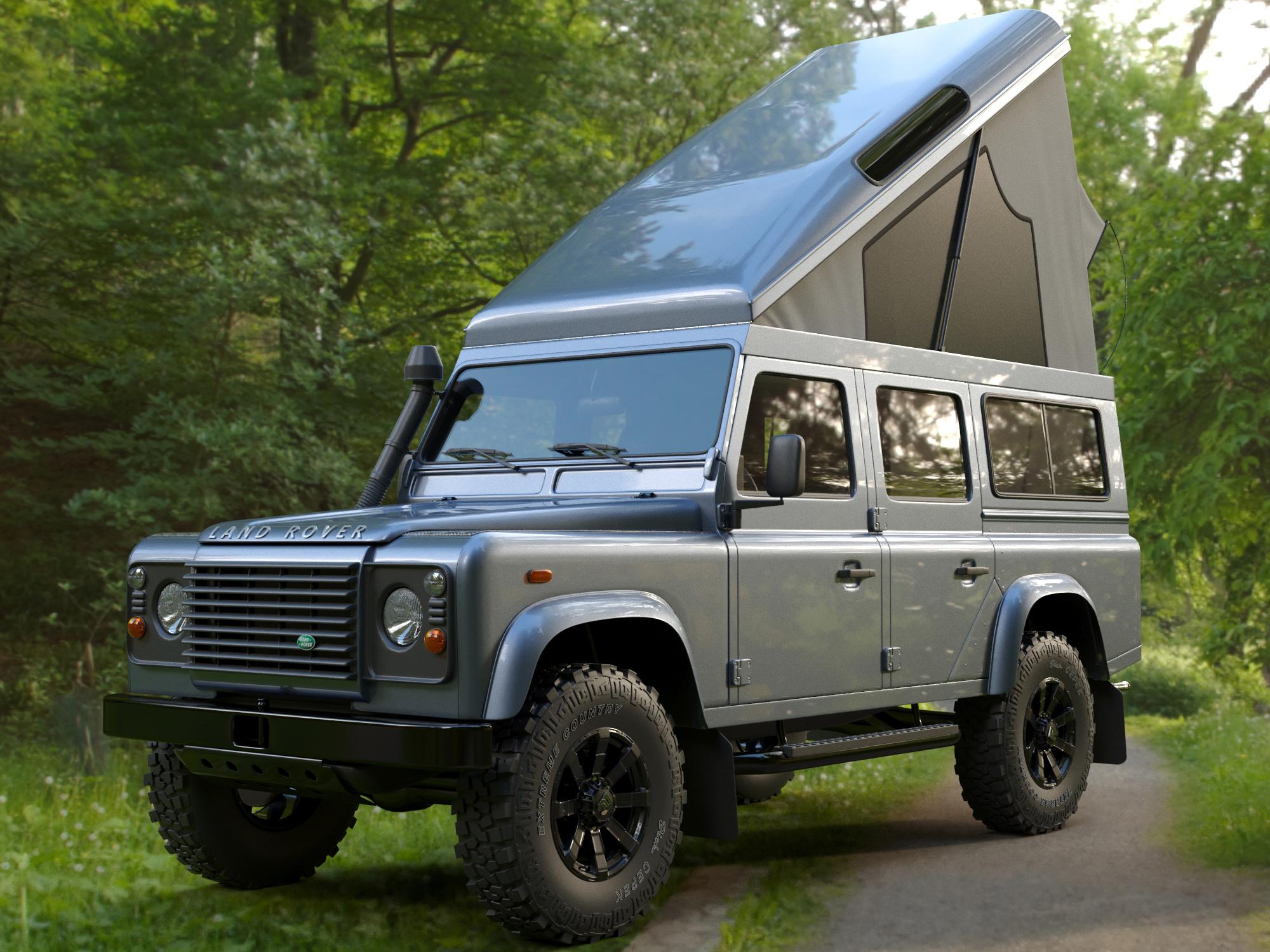 Land Rover Defender 110 >> Land Rover Defender 110 Camper