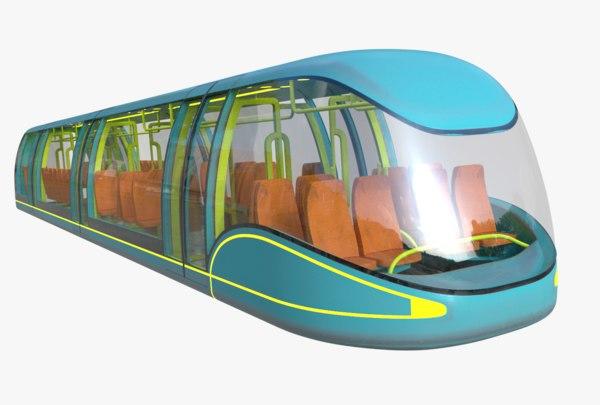 subway sci-fi pbr 3D