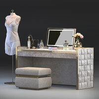 3D model titania dressing table