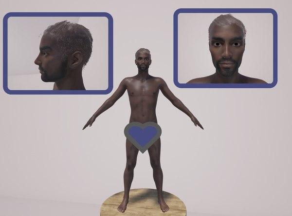 3D body genitals
