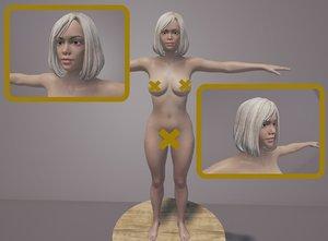 3D model body genitals