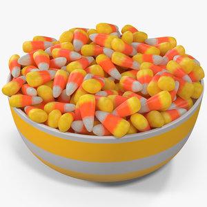 3D candy corn 4 model