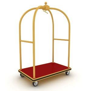 3D hotel cart