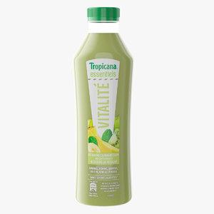 tropicana juice 3D