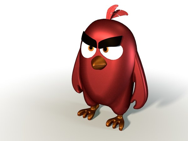 angrybirds red toys model