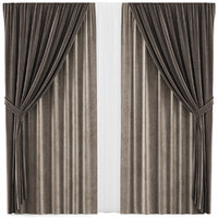 curtains 34 interior 3D