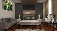 hotel room 3D