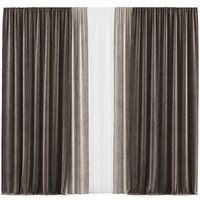 curtains 37 interior 3D model