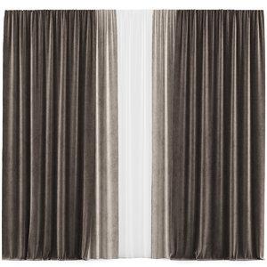 curtains 37 interior 3D model