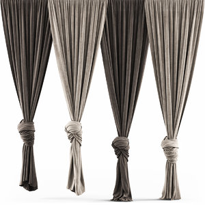 3D model curtains 38 knot interior