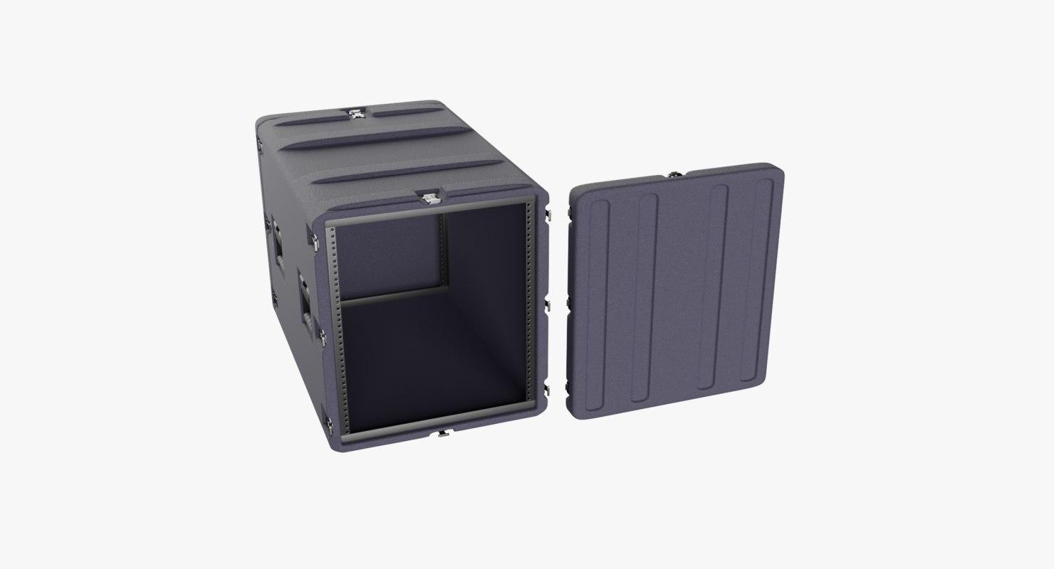 3D field rack mount case