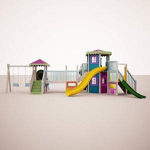 childs slide 3D model