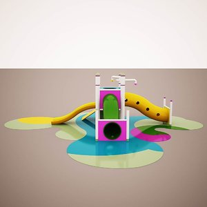3D childs slide 4
